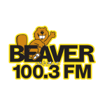 logo for Beaver 100.3 FM
